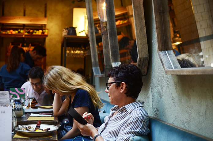 Restaurant Italien Ober Mamma Paris