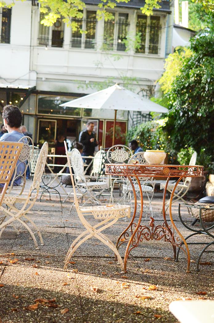 le pavillon puebla à Paris Buttes Chaumont
