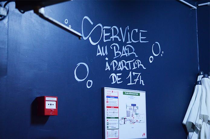 le bar à bulles la machine du moulin rouge paris
