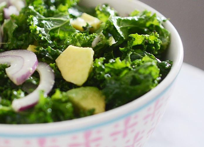 Recette salade de chou kale
