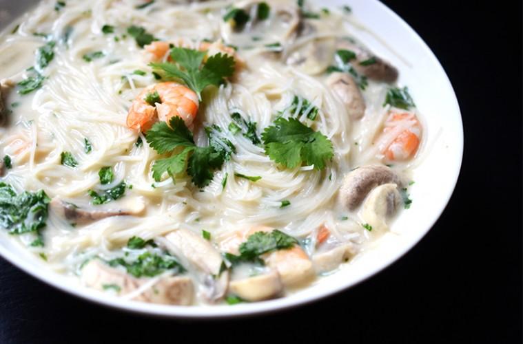 soupe thaie crevettes coco fernande et rene 1