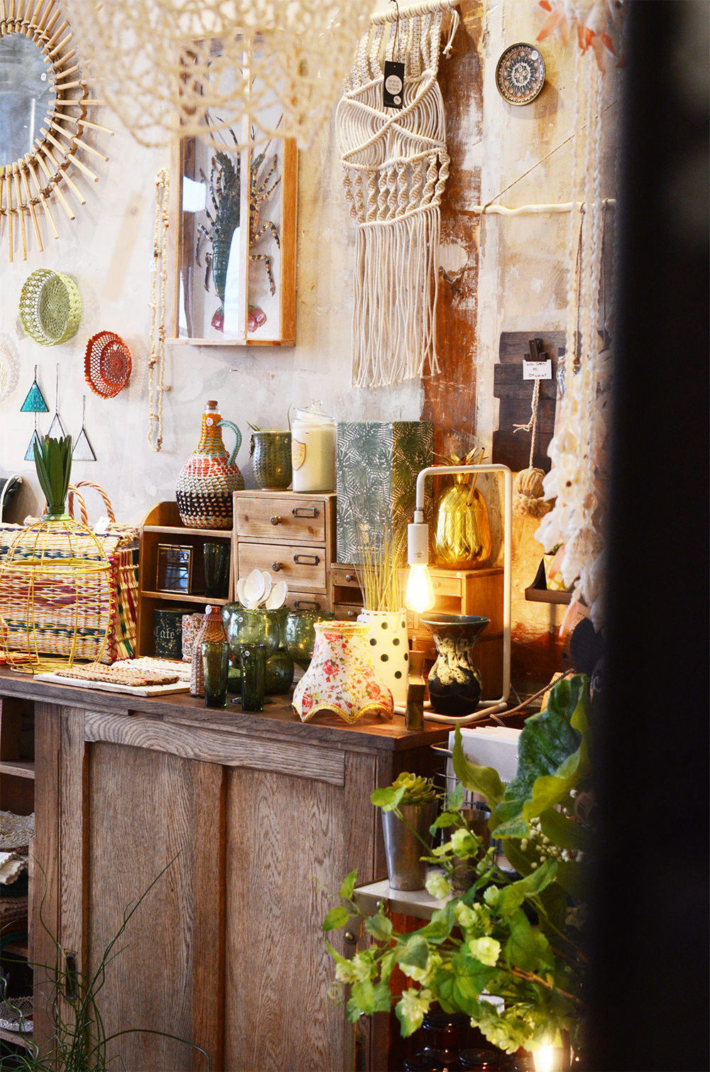 boutique les fleurs décoration rue trousseau paris