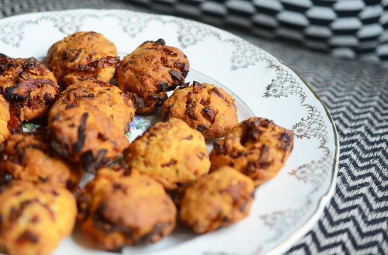 cookies salés tomates sechées et chorizo pour l'apéritif