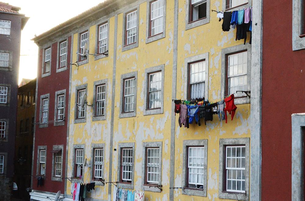 week-end au portugal à Porto le quartier de Ribeira