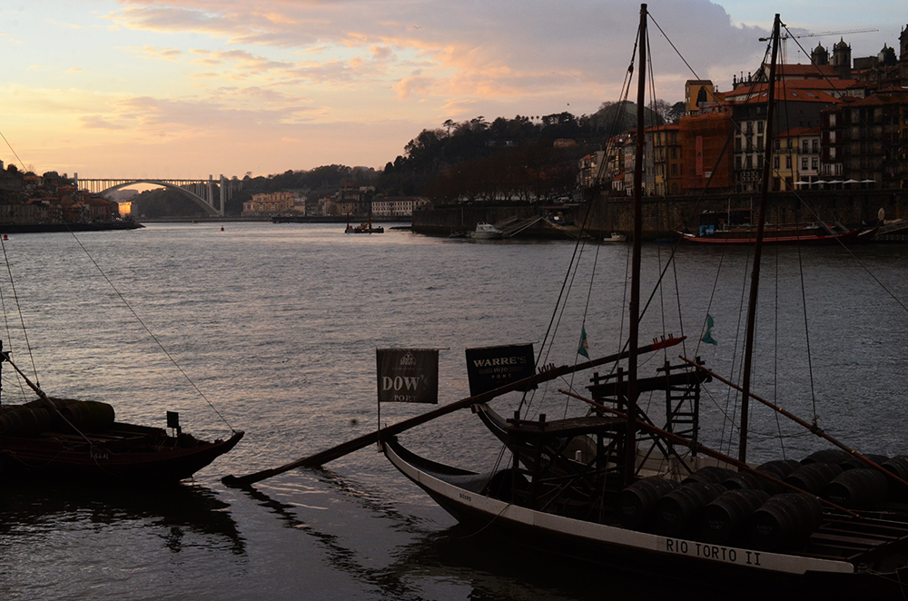 weekend portugal porto fernande et rené douro bateau