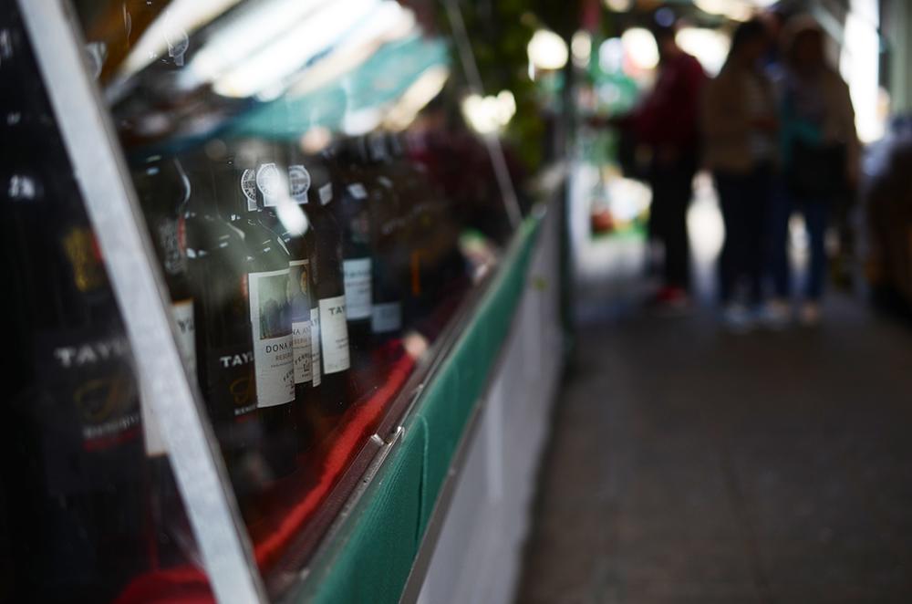 weekend portugal porto fernande et rené marché vin
