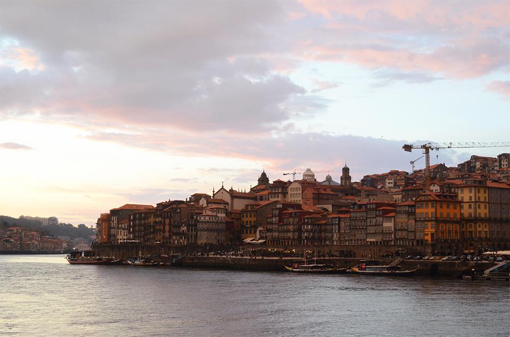 weekend portugal porto fernande et rené vu porto ribeira