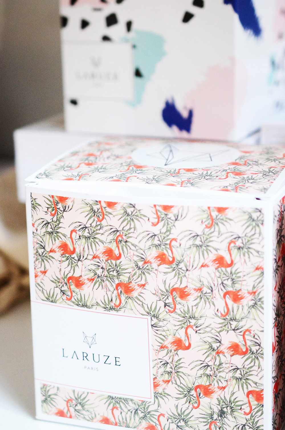 Laruze paris packaging