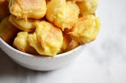 Gougères recette fromage choux recette apéritif
